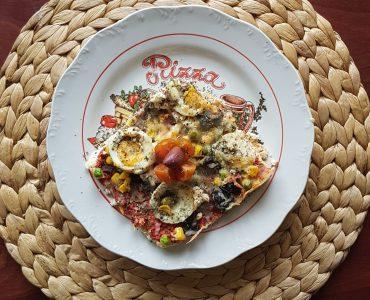 Безглутенова пица с карфиол